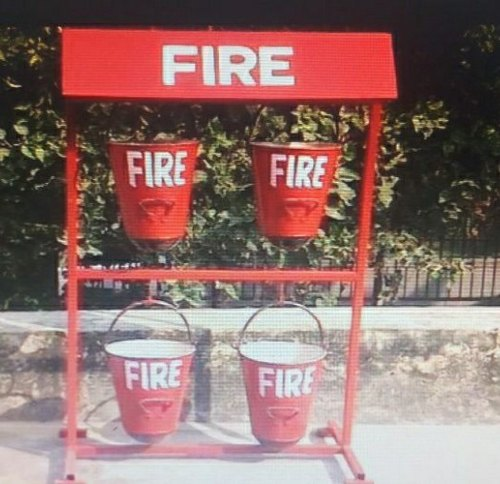Foldable Fire Buckets Stand