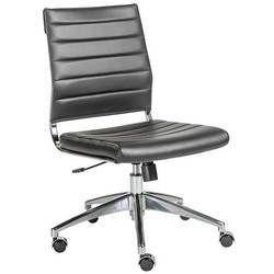 Black Color Sleek Chair