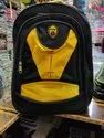 Black and Yellow School Bag