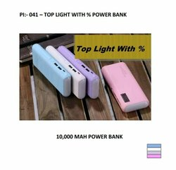 Power bank Top Light %