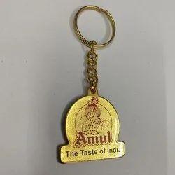 Amul Metal Keychain