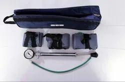 Pneumatic Tourniquet Set Three Cuffs Pressure Pump Surgical Instrument