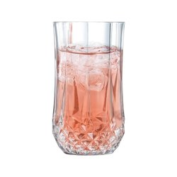 Clear Glass Longchamp High Ball Glasses for Hotel