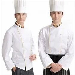 Cotton White Hotel Uniform, For Hotels