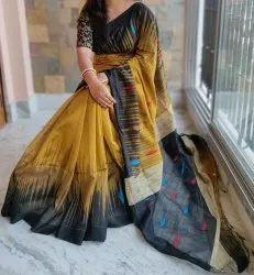 Richa Fashion World Bhagalpuri Silk Saree