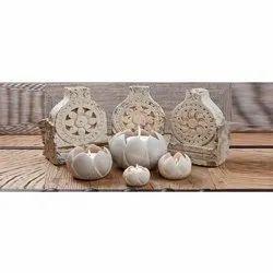 Indoor and Outdoor Round Marble Utensils