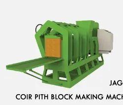 Mild Steel Coir pith block making machine