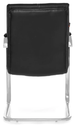 Fort Executive Visitor Chair In Black Colour