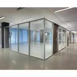 Glass Wall Aluminium Office Partition