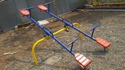 Playground Double Seesaw