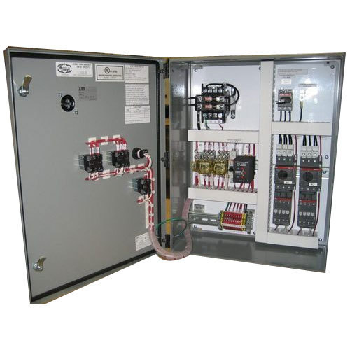 Aluminum Fully Automatic VFD Control Panel service, IP Rating: IP66