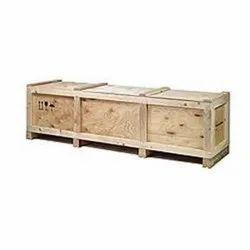 Rectangular Hardwood Plywood boxes, For Packaging, Capacity: 80 Kg