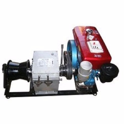 Amico Single Capastan Winch Machine, Capacity: 3 Ton
