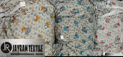 Dull Lycra Print Fabric
