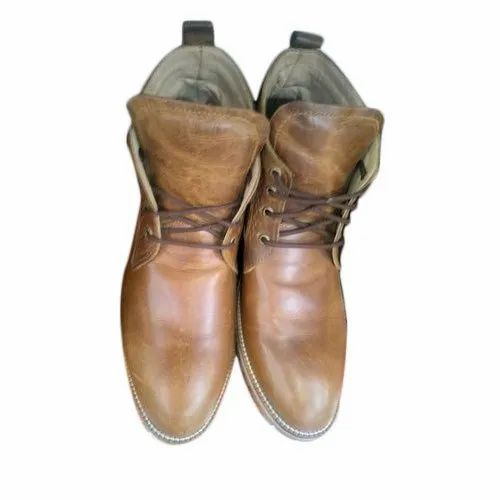 098ef0ebbbd Biloch Brown Mens Lace Up Ankle Boots, Size: 5-11, Rs 1400 /pair ...