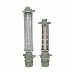 2 To 4 Feet Aluminium Flameproof Tube Light Fixture, 15 W