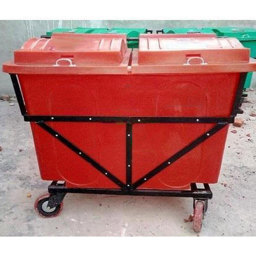 Red Industrial Dustbin, Capacity: 21-25 Liters