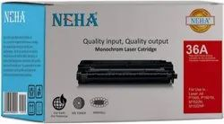 NEHA Ink 36A HP Toner Cartridges, For Laser Printer