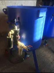 Portable Sandblasting Machine 600 kg Automatic