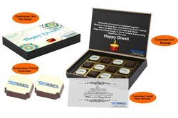 Happy Diwali Customized Printed Chocolate