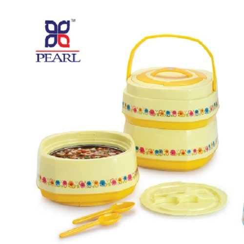 aa6e0008122 Pearl Plastic 3 Layer Tiffin Box