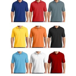 Zooks Half Sleeves Mens Collar Dry Fit T Shirt, Size: S - XXL
