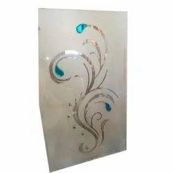 Glossy 12 Mm Decorative Toughened Decorative Glass