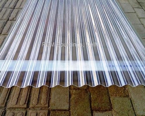 Uv Fibre Roof Sheet At Rs 510 Sheet Fiber Reinforced