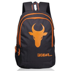 b3088aebe1 F Gear Castle Bull 24 Ltrs Orange Casual Laptop.
