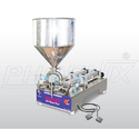 Semi Automatic Double Head Piston Filler