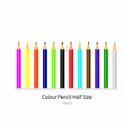 Unique Artzz Polymer Half Size Colored Pencils