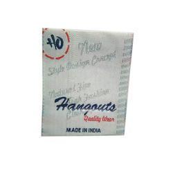 Woven Rectangle Brand Garment Label