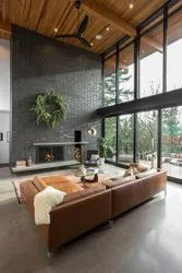 Double Height Living Room Design Work Provided Wood Work Furniture Id 22380473562