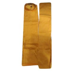 Yellow Mens Cotton Kurta Pajama, Packaging Type: Packet, Plastic Bag, Size: Xl