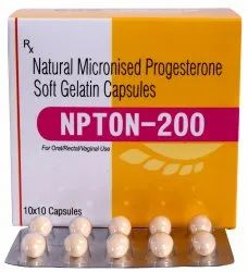 Natural Progesterone 200mg Soft Gel Cap