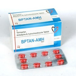 Amlodipine 5mg Telmisartan HCL 40mg Hydrochorothiazide 12.5mg Tablet
