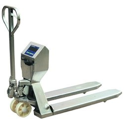 S.S.Weighing Scale Pallet Truck