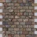 Capstona Stone Mosaics Wooden Texture Tiles