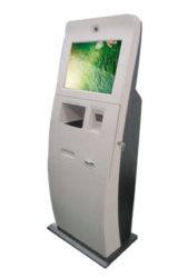 Indian Visitor Management Signage Digital Touch Screen Kiosk
