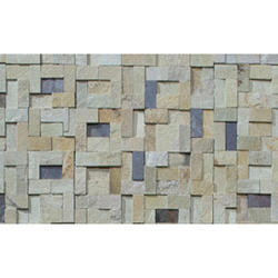 Wall Cladding Mosaics, Thickness: 10-15mm , Size: 300mm X 150mm