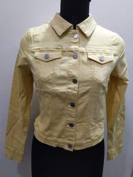 Women Branded Export Surplus Denim Jacket