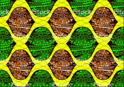 African Print Fabric - Wax Print - Super Wax