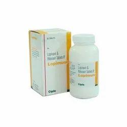 Ritonavir 50mg   Lopinavir 200mg- Lopimune Tablet