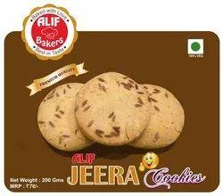 Eggless Cool N Dry Place Alif Jeera Cookies