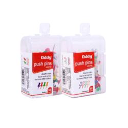 Oddy Push Pins - 50 Pcs Pack