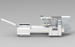 Single Row On Edge Packing Machine for Biscuit