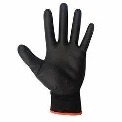 Black PU Coated Gloves