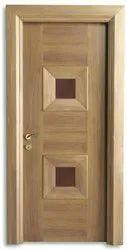 Standard Teak Veneer Door