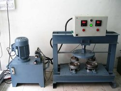 Semi Automatic Wrinkle Plate Making Machine