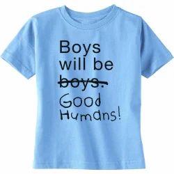 Blue Nitts Hosiery Kids T Shirt